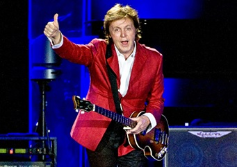 Paul McCartney konsertbild