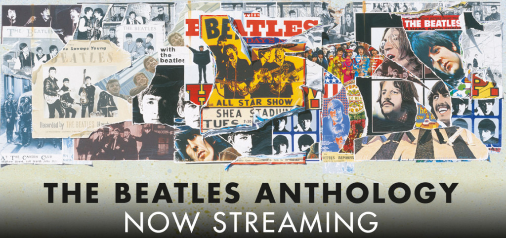 The Beatles Anthology now streaming
