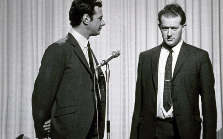 Brian Epstein och Tony Barrow
