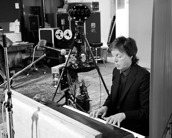 Paul i sin studio