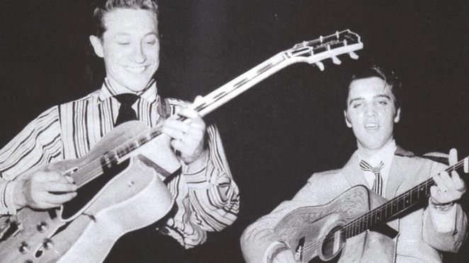 Scotty Moore o. Elvis Presley