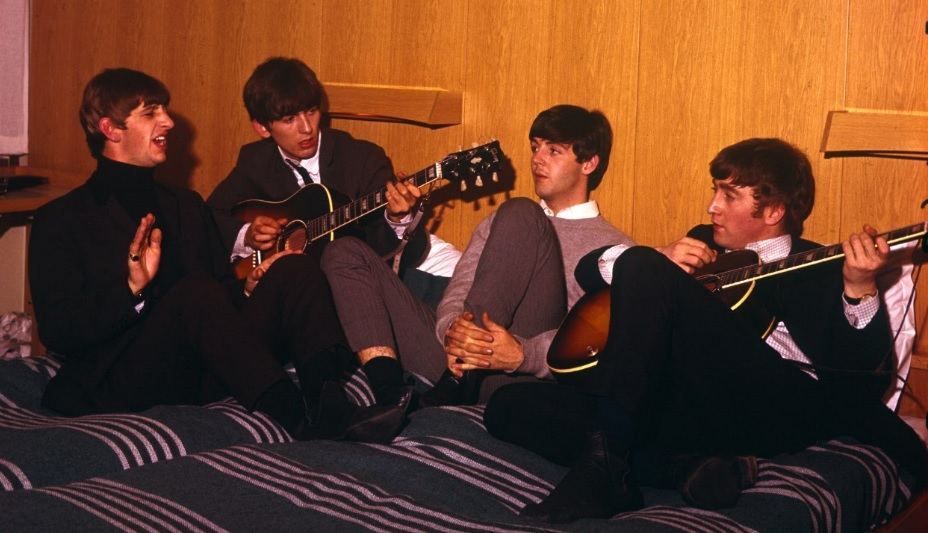 The Beatles på hotellrum