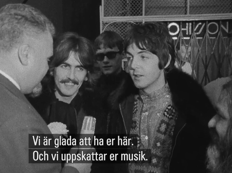 george-och-paul-blir-intervjuade-i-falsterbo-1967
